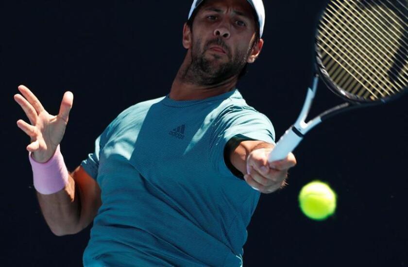 El madrileño Fernando Verdasco (26) se convirtió en el primer jugador español en acceder a la segunda ronda en Melbourne Park. EFE