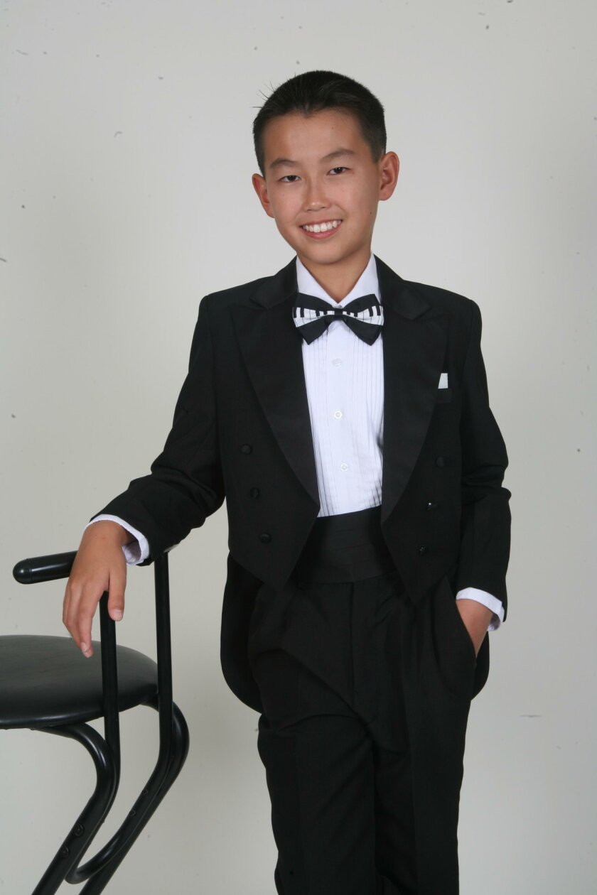 Pianist Michael Chen