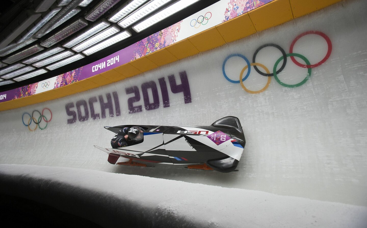 Mens Two-man Bobsleigh