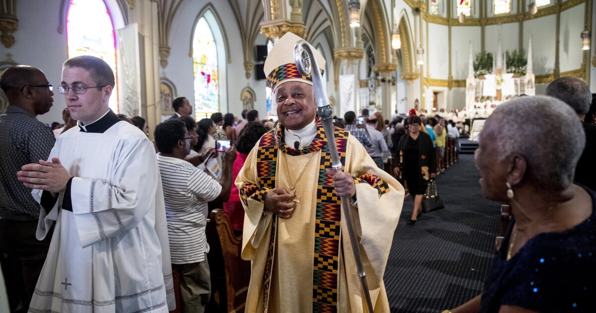 Archbishop Gregory stood up to Trump. Now he's about to be the first Black cardinal in U.S.