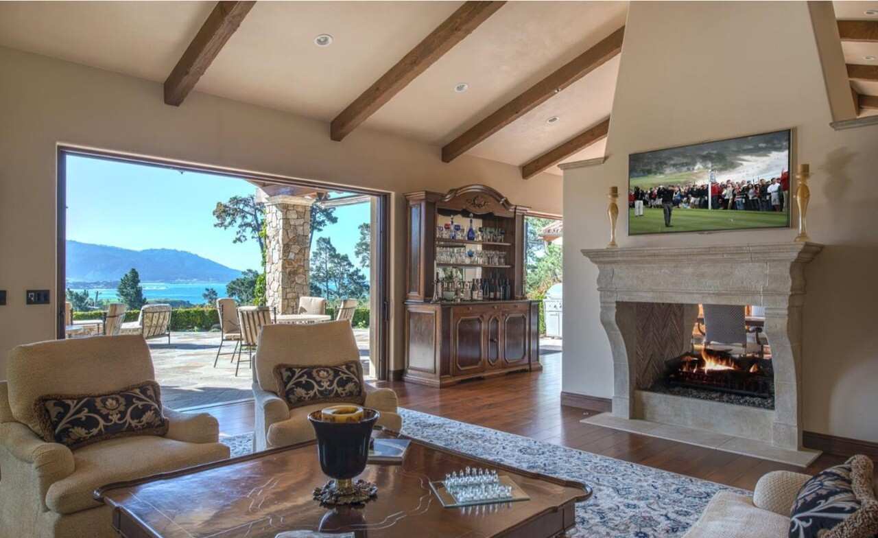 Michael Spanos' Pebble Beach abode | Hot Property