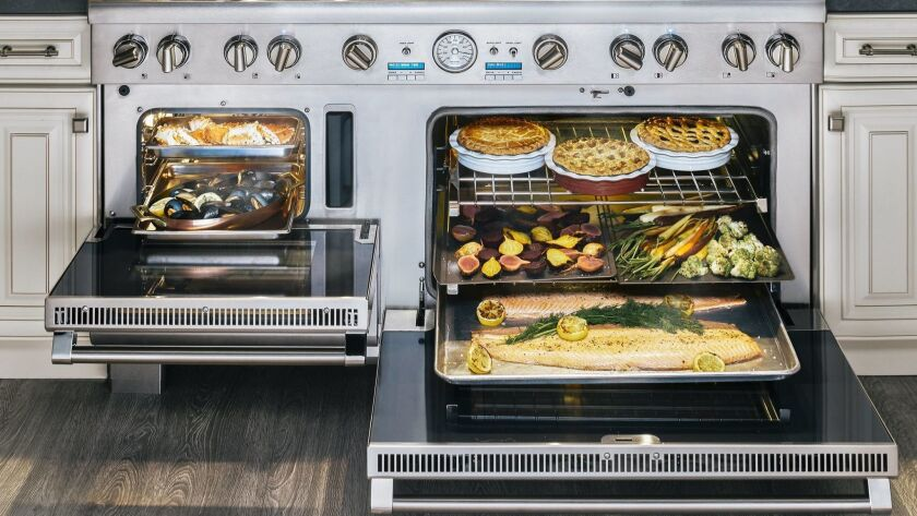 Steam is an increasingly popular wellness feature in cooking appliances. Photo courtesy of Thermador