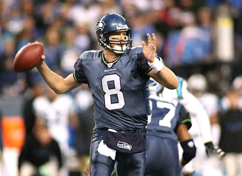 Matt Hasselbeck played 10 seasons in Seattle, and led the Seahawks to a Super Bowl, but also played for Green Bay, Tennessee and Indianapolis.