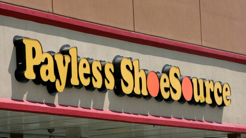 Payless ShoeSource said it will immediately close nearly 400 of its 4,400 stores.