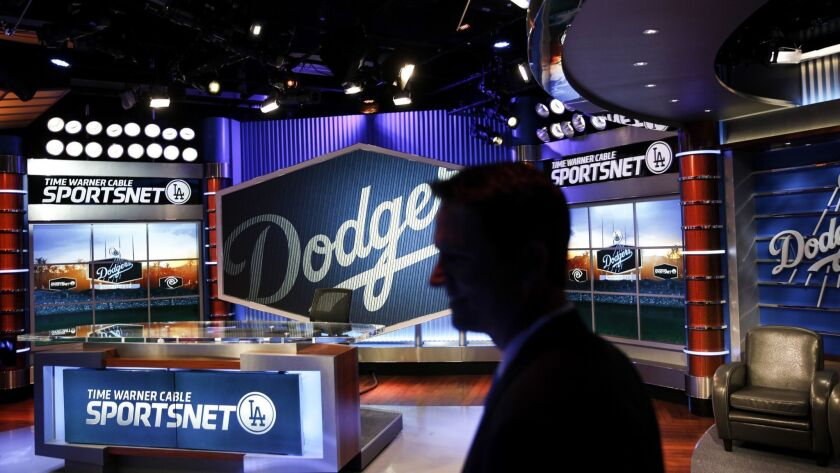 Charter Communications distributes SportsNet LA, the El Segundo-based television channel owned by the Los Angeles Dodgers.
