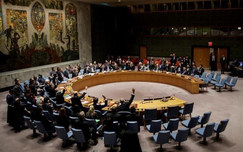 El Consejo de Seguridad de la ONU aprobó hoy por unanimidad una resolución de apoyo a la tregua en Siria entre el régimen de Bachar al Asad y la oposición armada, auspiciada por Rusia y Turquía. EFE/ARCHIVO