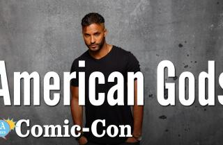 """American Gods"" Star Ricky Whittle Talks About Love At Comic-Con 2017"