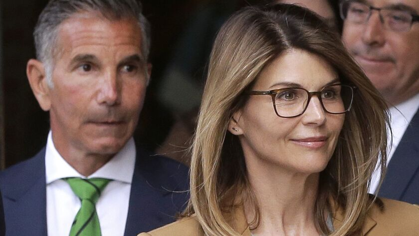 Lori Loughlin and her husband, J. Mossimo Giannulli
