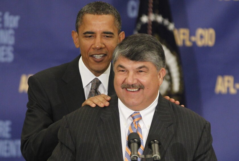 Barack Obama, Richard Trumka