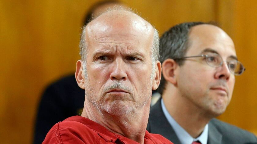 Scott Roeder appears in court in Wichita, Kan., on July 7. Roeder was convicted in 2010 of murdering Kansas abortion provider Dr. George Tiller.