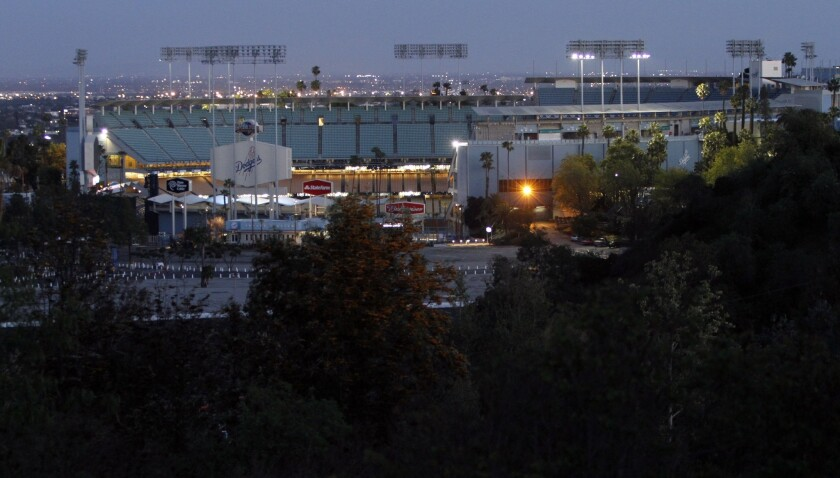 Getting to Dodger Stadium on game day can be quite a challenge as Times intern Everett Cook learned firsthand on Thursday.