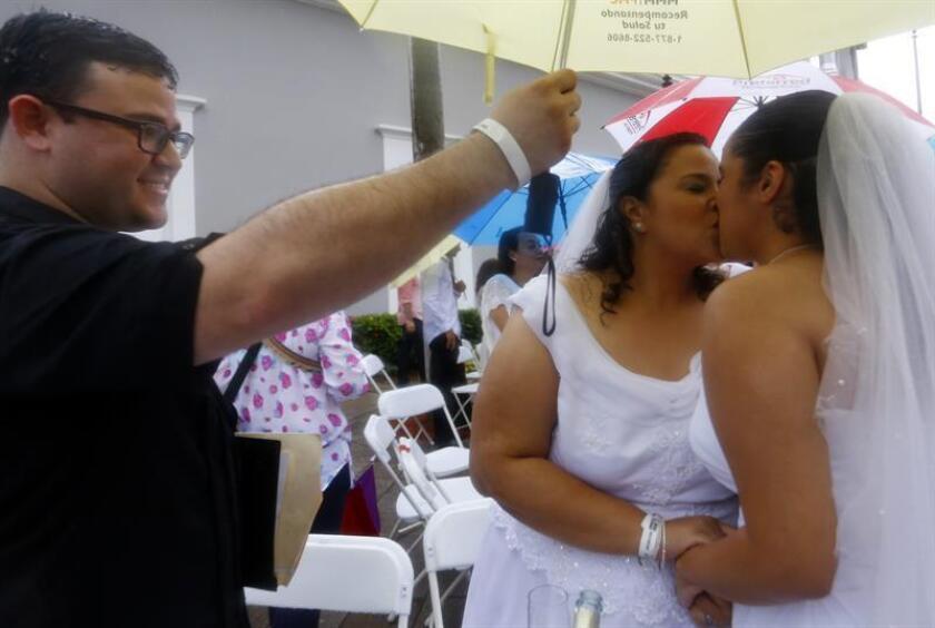 El subdirector de la Corporación de Servicios Legales de Puerto Rico (SLPR), Alejandro Figueroa, se mostró hoy favorable al borrador propuesto para el nuevo Código Penal de la isla caribeña en lo relativo a los matrimonios. EFE/ARCHIVO