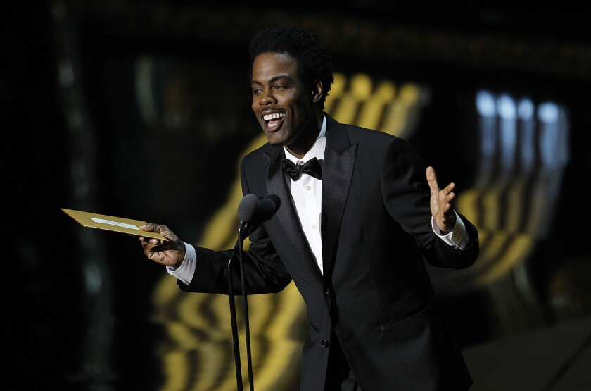 Chris Rock will host the Oscars this year