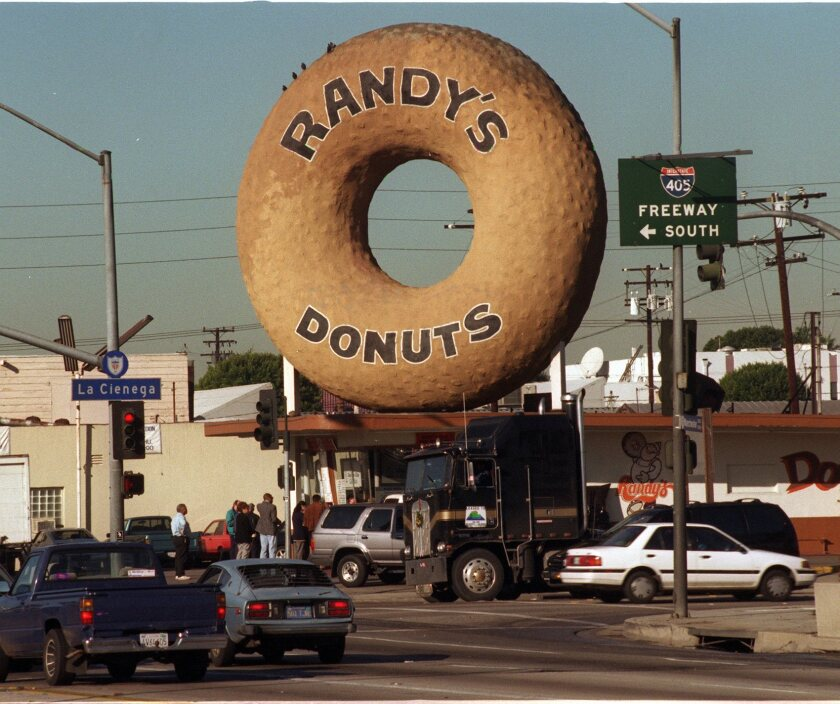 The hole in the doughnut is pretty much what this plan will wind up getting Inglewood, too: Local landmark Randy 's Donuts.