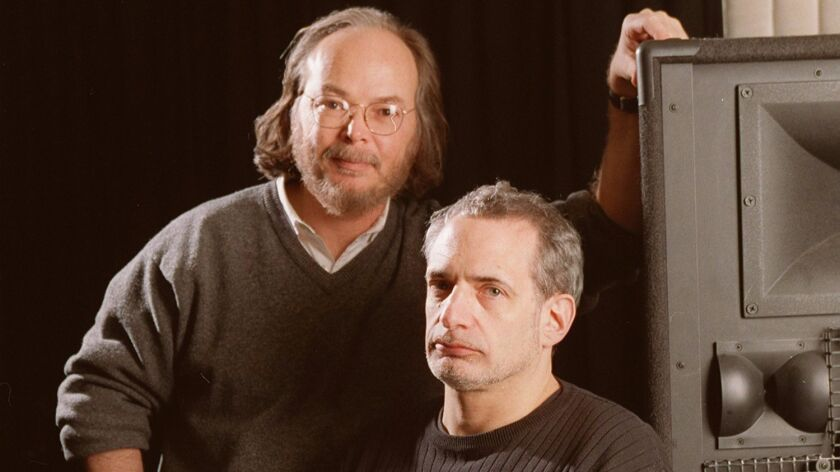 Walter Becker, left, and Donald Fagen in 2000.