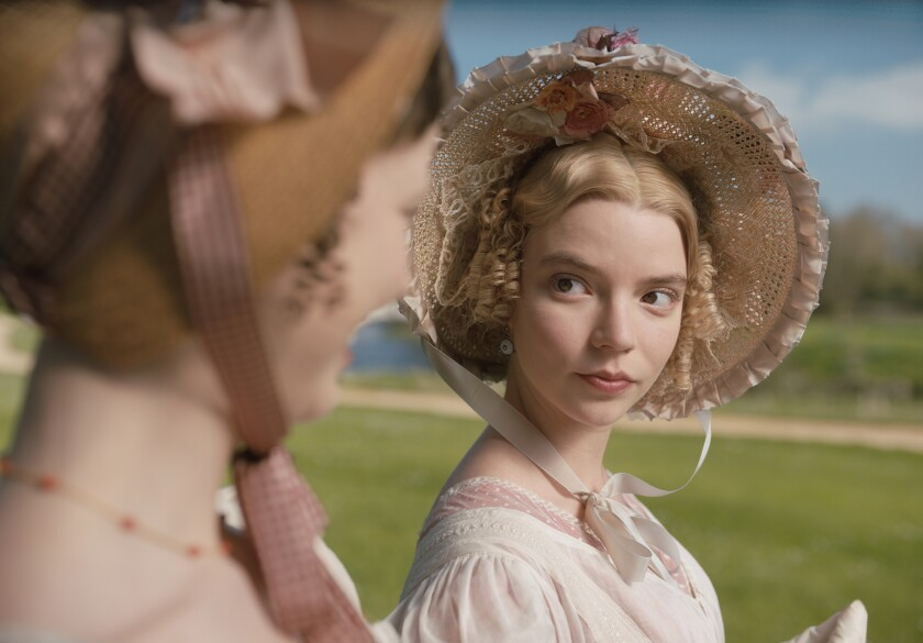"Anya Taylor-Joy in ""Emma,"" which is getting an early video on-demand release amid the coronavirus crisis."