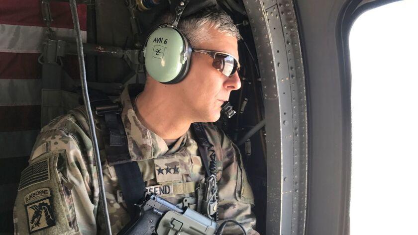 U.S. Army Lt. Gen. Stephen Townsend last month.