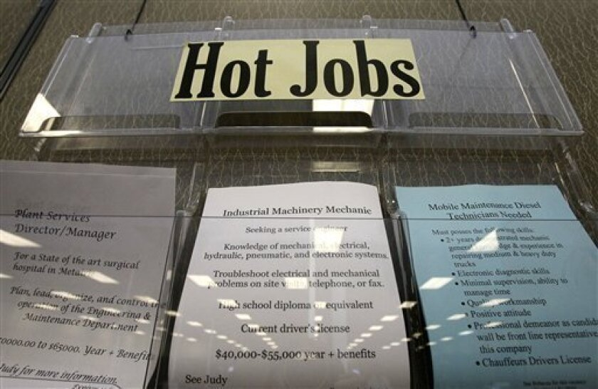 The latest report from Monster.com shows that want ads are picking up in San Diego County, led by military-specific positions and security jobs.