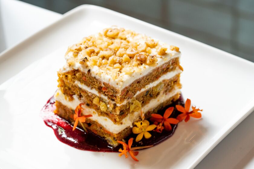 Candor could succeed by only serving one thing: Giuseppe's Famous Carrot Cake.