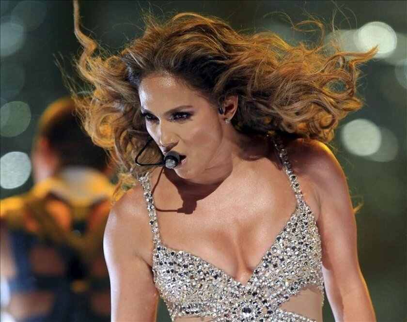 La cantante estadounidense Jennifer López. EFE/Archivo