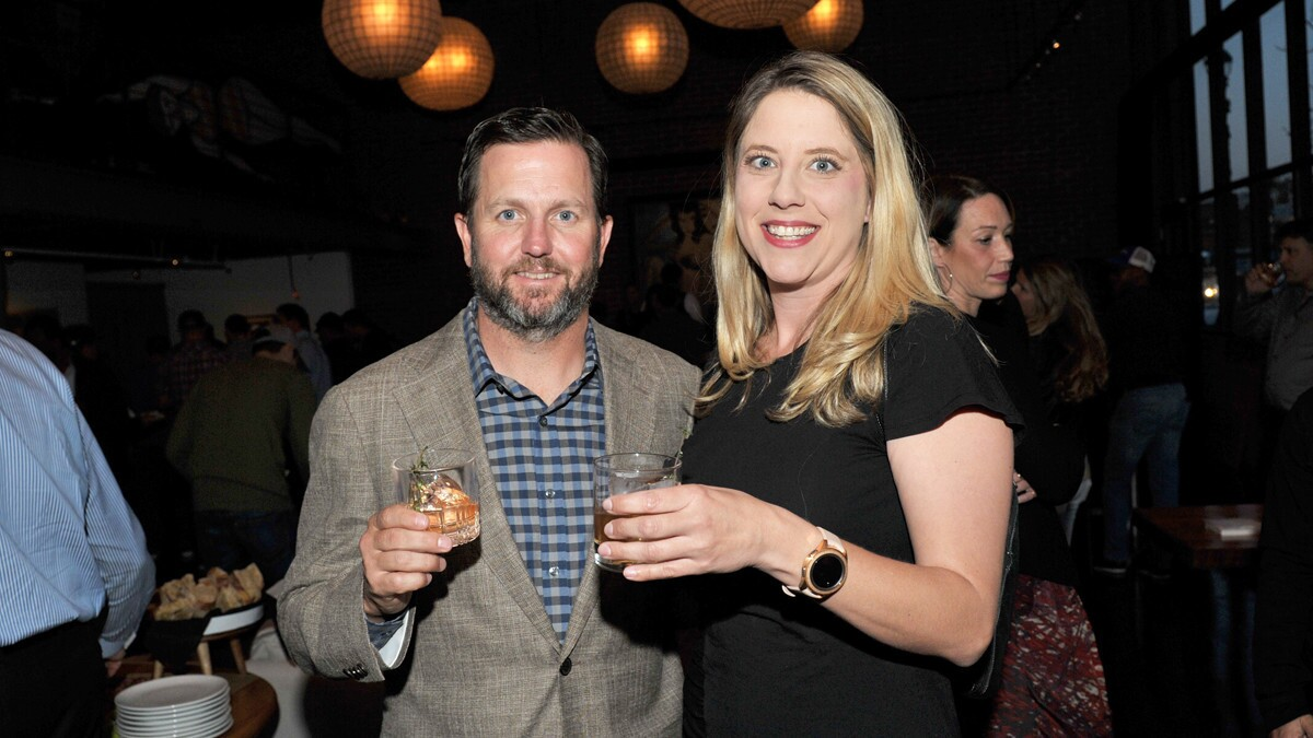 Century Club party at Herb & Wood
