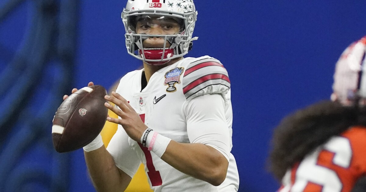 Column: April is Liars Month in NFL, and Justin Fields appears to be latest victim