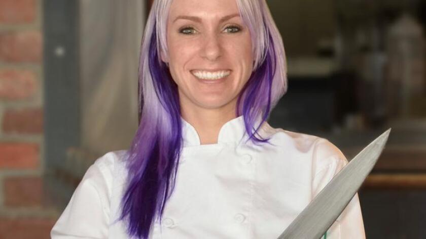Christina Pancheri, Tavern's new executive chef