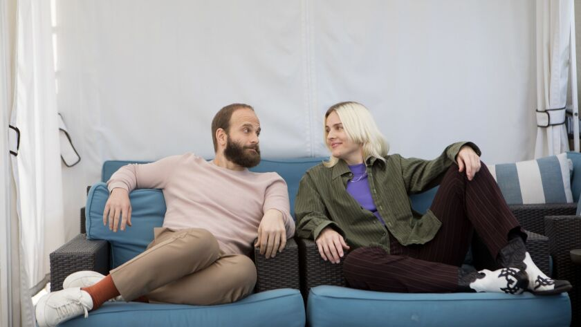 BEVERLY HILLS, CA February 26, 2019: Portrait of the creators of the HBO series 'High Maintenance'