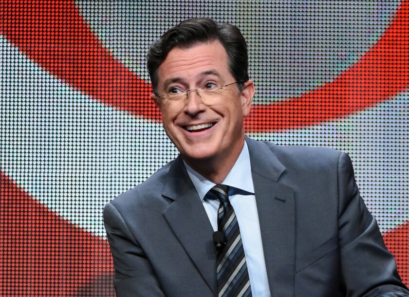 """Stephen Colbert mockingly responded to Jeb Bush's contest to win tickets to """"The Late Show,"""" which the presidential candidate apparently did not run by the new host."""