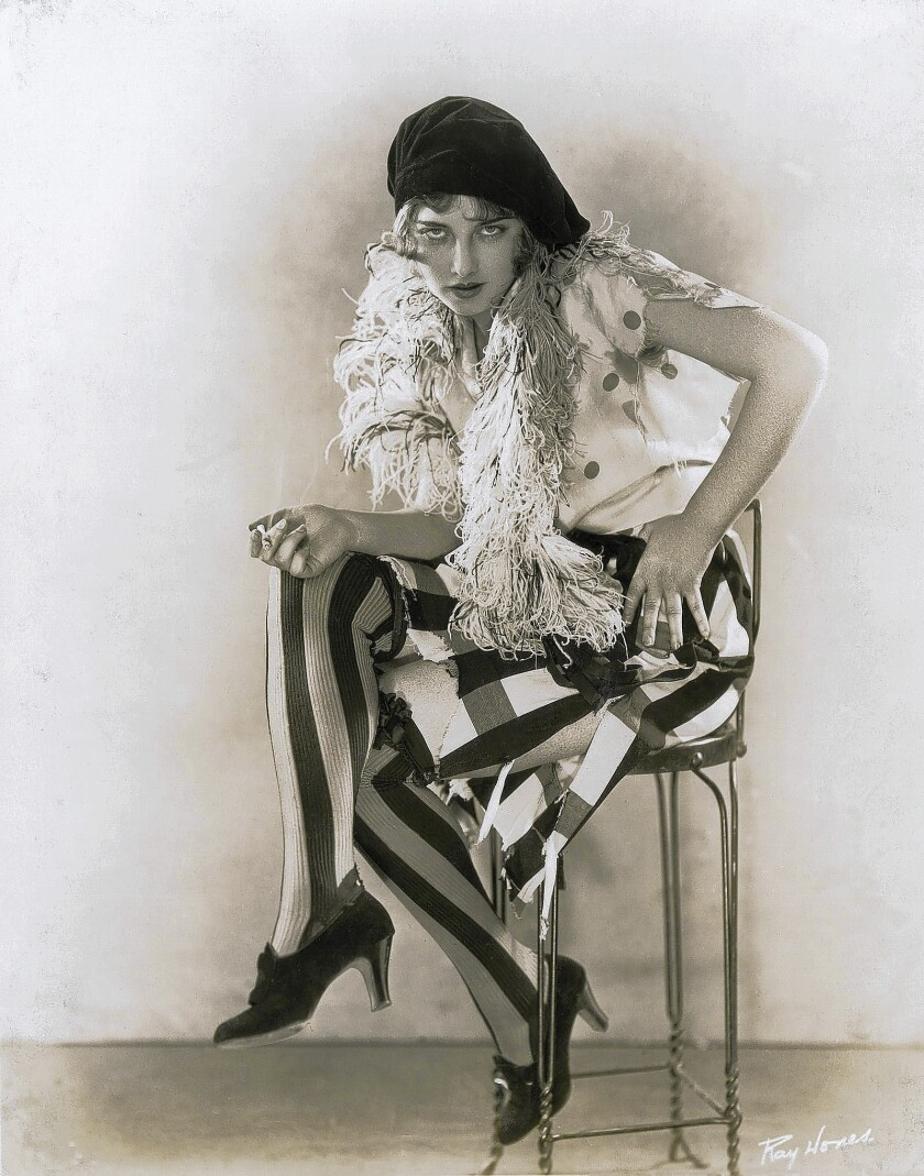 "Carla Laemmle in an undated photo. She appeared in ""The Phantom of the Opera"" and ""Dracula"""
