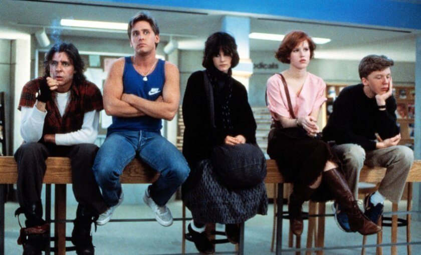 "The iconic 1985 film ""The Breakfast Club"" explored the emotional, compulsive, risk-taking nature of teenagers."