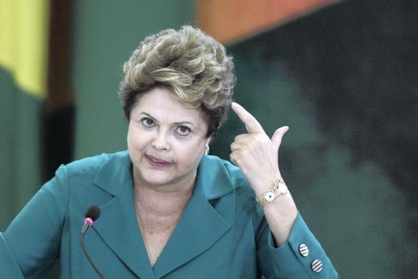 Brazilian President Dilma Rousseff, angry about reports of NSA spying on Brazil, has canceled a state visit to Washington.