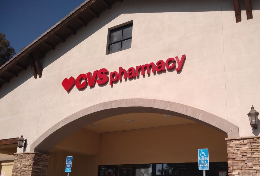 CVS Pharmacy in Ramona is offering drive-through COVID-19 tests throughout the week by appointments.