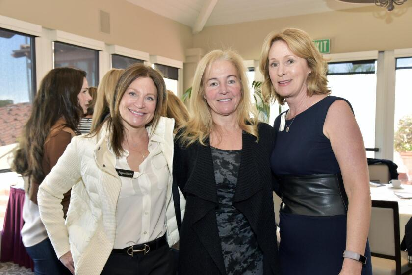 Susan Pidgeon Mandel, Financial co-advisor Candise Holmlund, Sue Sanderson