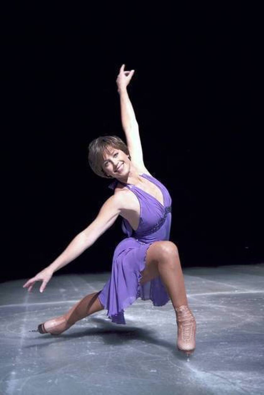 Dorothy Hamill says she is getting stronger as she prepares for the Stars of Ice shows.