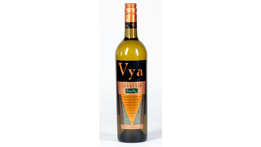 Vya Extra Dry vermouth from winemaker Andrew Quady.