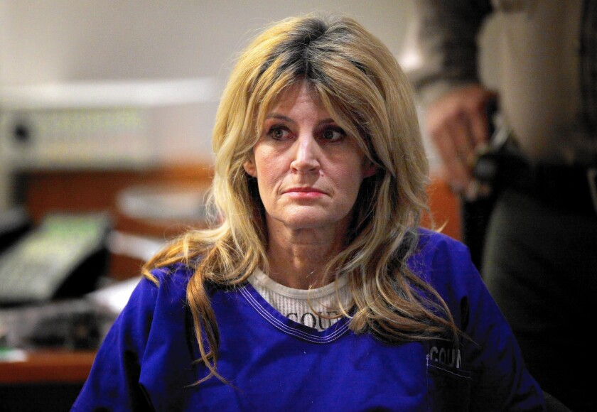 Dawn DaLuise in court last year. She was found not guilty.