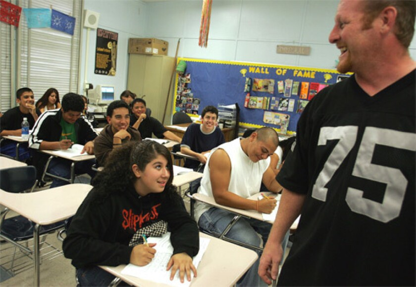 "Robert Moose, a former defensive lineman, teaches ""moral reasoning"" at Birmingham High School. The curriculum is based on a program used in prisons."