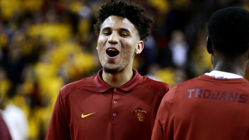 USC forward Benny Boatwright averaged 15.1 points and 4.5 rebounds a game last season.