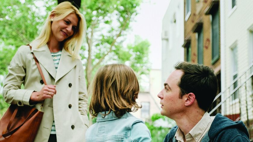 """(L-R) - Claire Danes, Leo James Davis, and Jim Parsons in Silas Howard's """"A KID LIKE JAKE."""" Credit:"""