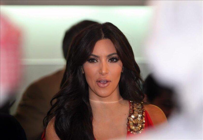 La celebridad estadounidense Kim Kardashian es una de las afectadas. EFE/Archivo