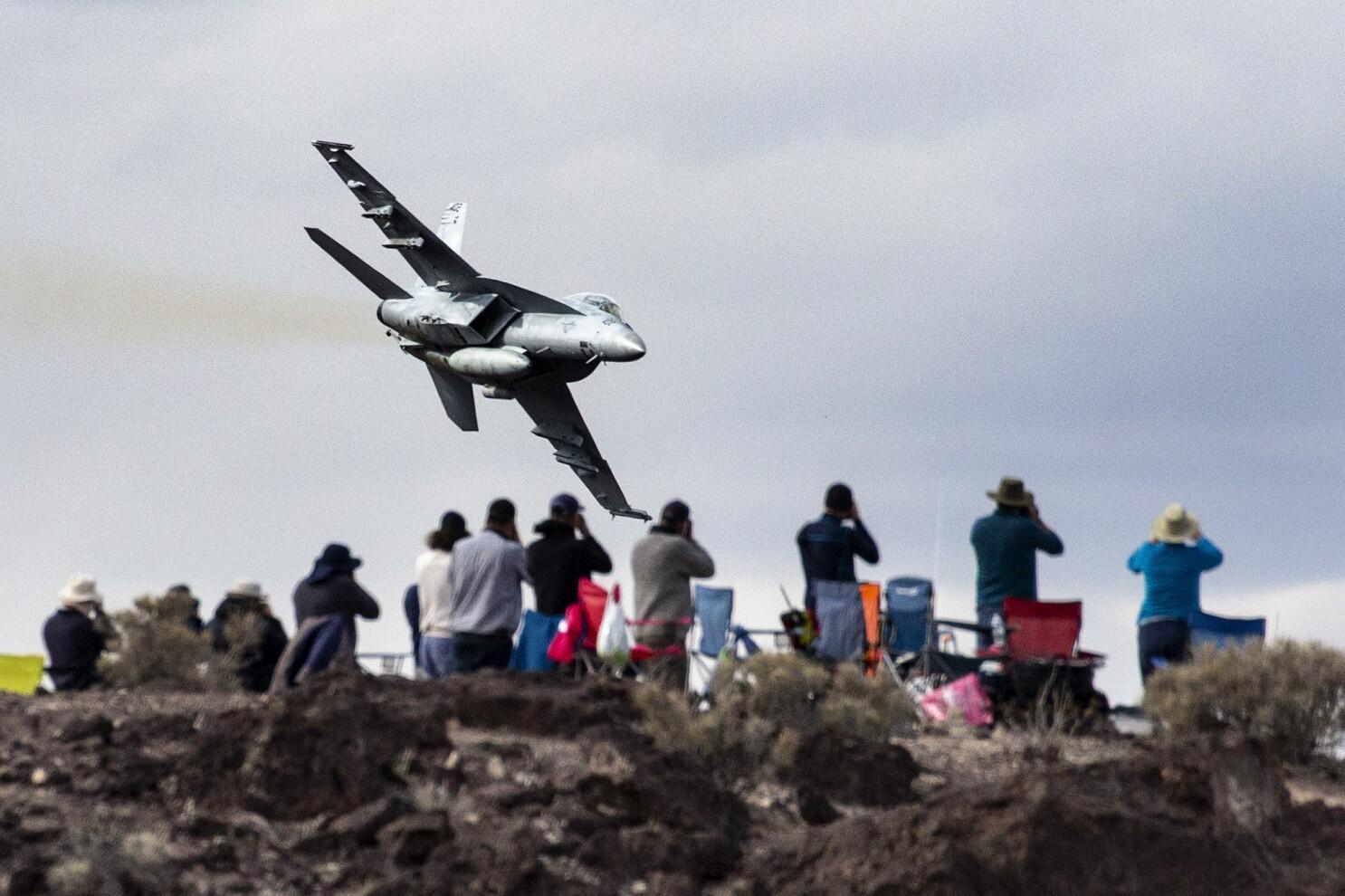 In Death Valley S Star Wars Canyon Fighter Jet Aficionados Have