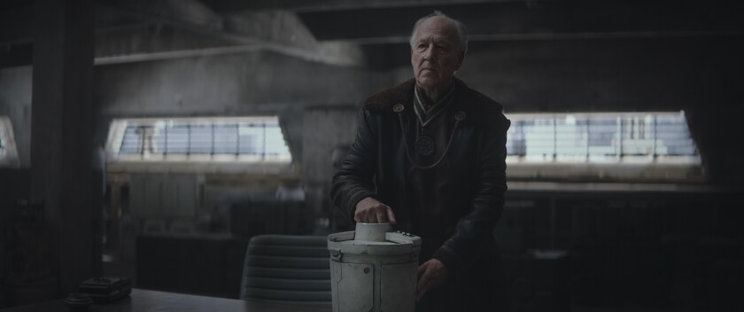 The Client in 'The Mandalorian'