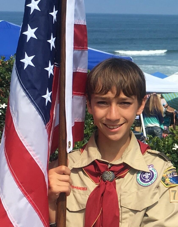 Boy Scout Jason Bhalla