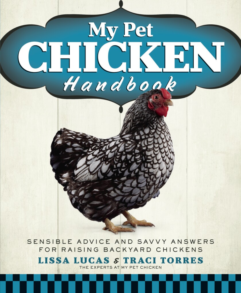 In the new 'My Pet Chicken Handbook,' experts Lissa Lucas and Traci Torres offer tips on how to manage a healthy flock at home.