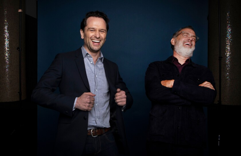 "Matthew Rhys and Tom Hanks star in ""A Beautiful Day in the Neighborhood."""