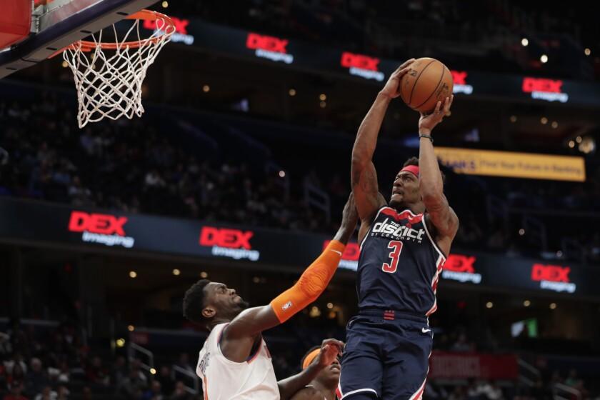 Knicks Wizards Basketball