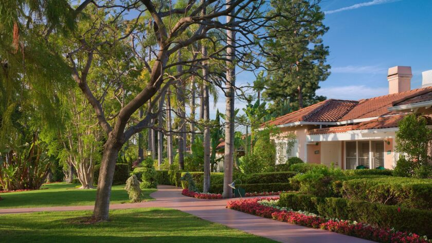 The bungalows of the Beverly Hills Hotel & Bungalows