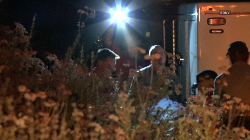 Investigators continued to work late Tuesday night to probe the suspicious circumstances surrounding the death of a man discovered in the morning.