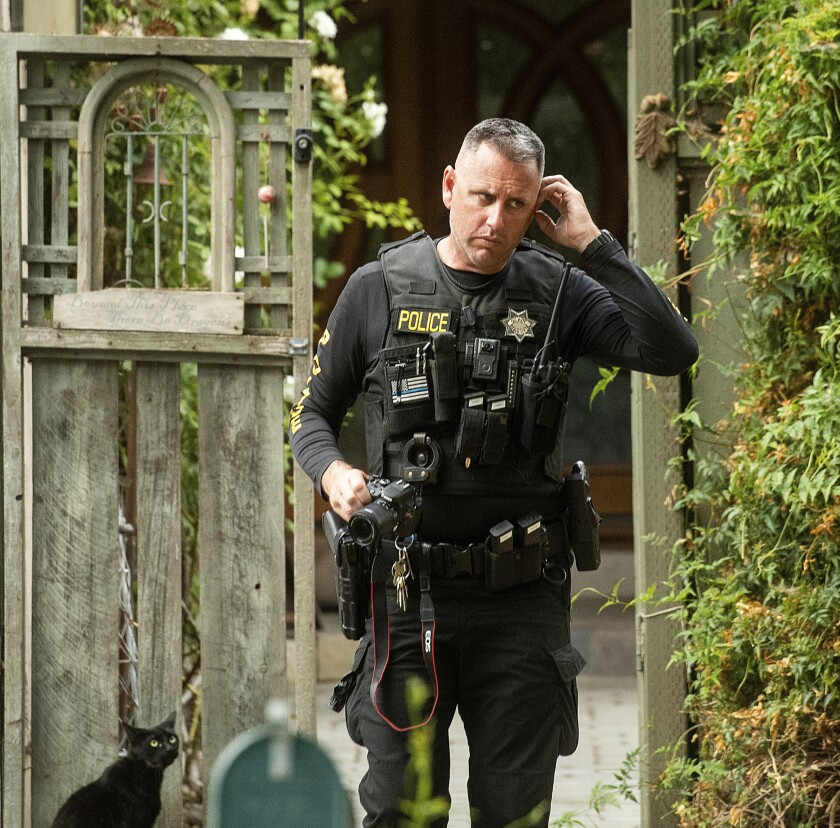 Police search home of the man believed to be the Gilroy mass shooter
